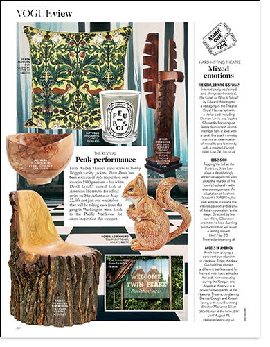 mid century eames wooden chair in vogue view