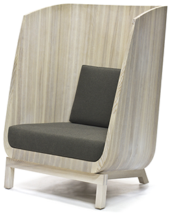 wood porter chair