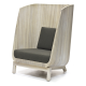 wood porter chair