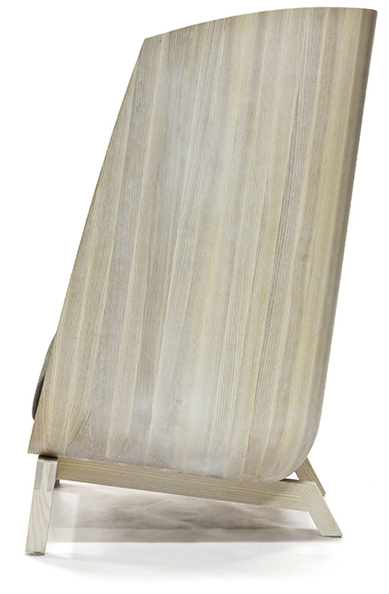 wood porter chair profile