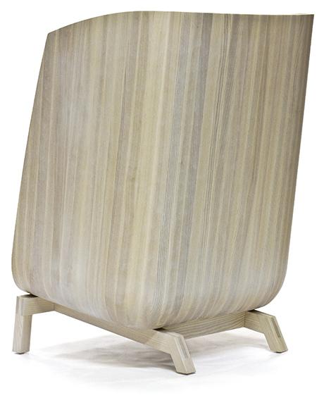 wood porter chair angle