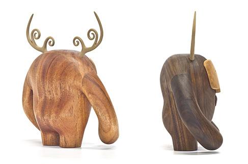 custom wood design los hermanos calavera back